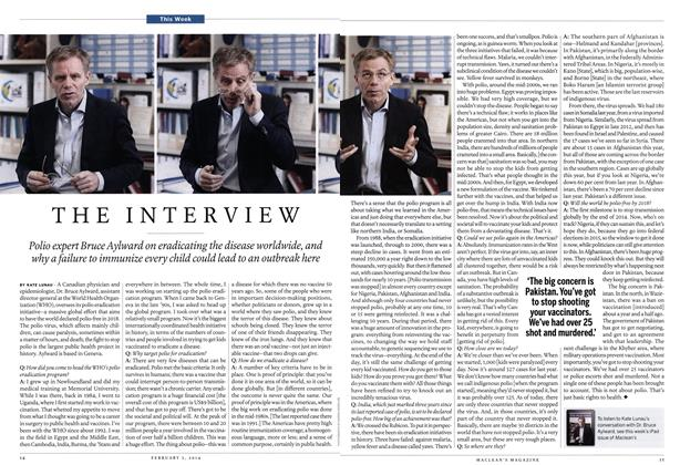 Article Preview: THE INTERVIEW, February 2014 | Maclean's
