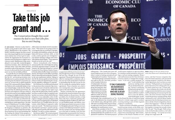 Article Preview: Take this job grant and..., February 2014 | Maclean's