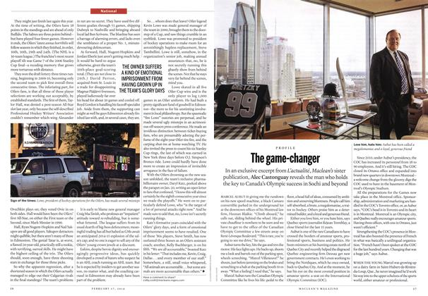 Article Preview: The game-changer, February 2014 | Maclean's
