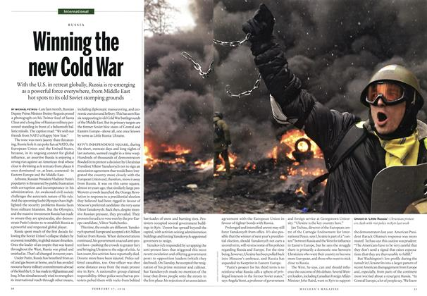 Article Preview: Winning the new Cold War, February 2014 | Maclean's