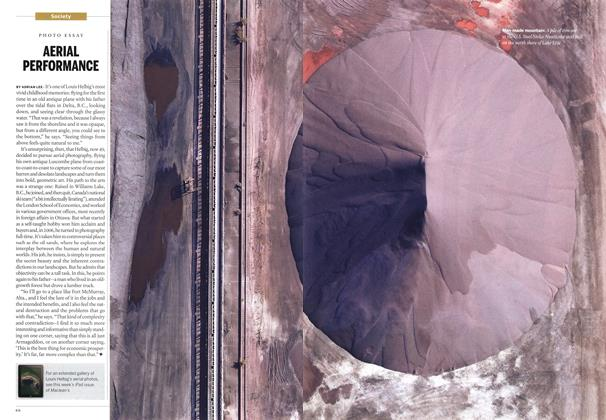 Article Preview: AERIAL PERFORMANCE, February 2014 | Maclean's