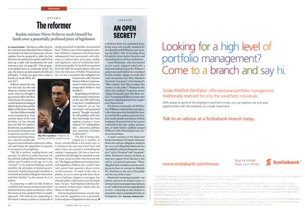 Article Preview: AN OPEN SECRET?, February 2014 | Maclean's