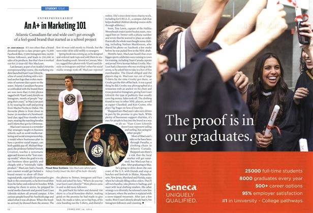 Article Preview: An A+ in Marketing 101, February 2014 | Maclean's