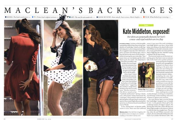 Article Preview: Kate Middleton, exposed!, February 2014   Maclean's