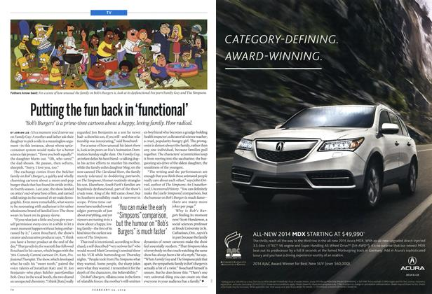 Article Preview: Putting the fun back in 'functional', February 2014 | Maclean's