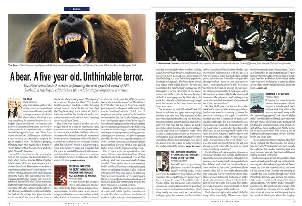 Article Preview: COLLISION LOW CROSSERS: A YEAR INSIDE THE TURBULENT WORLD OF NFL FOOTBALL, February 2014 | Maclean's