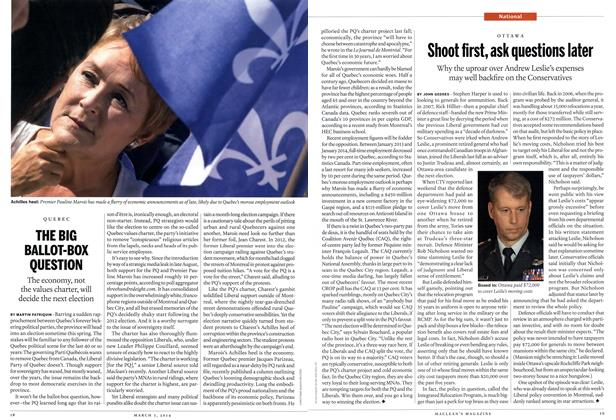 Article Preview: Shoot first, ask questions later, March 2014 | Maclean's
