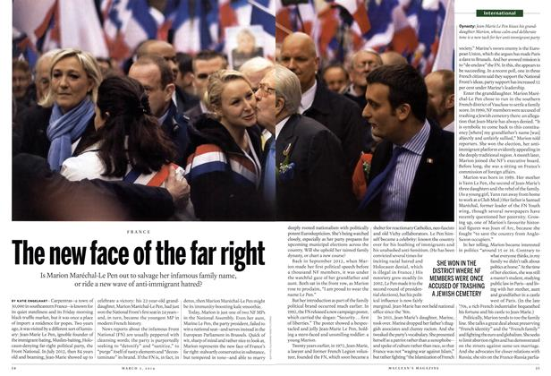 Article Preview: The new face of the far right, March 2014 | Maclean's