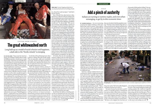 Article Preview: Add a pinch of austerity, March 2014 | Maclean's