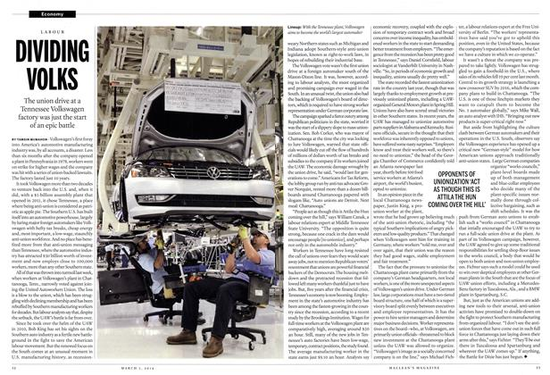 Article Preview: DIVIDING VOLKS, March 2014 | Maclean's