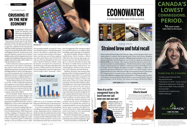 Article Preview: CRUSHING IT IN THE NEW ECONOMY, March 2014 | Maclean's