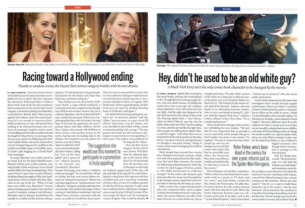 Article Preview: Racing toward a Hollywood ending, March 2014 | Maclean's