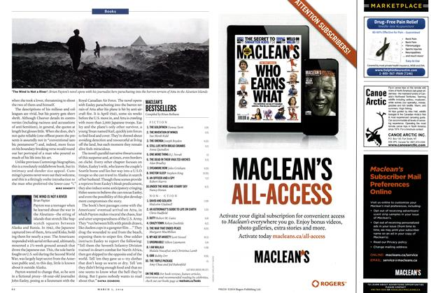 Article Preview: MACLEAN'S BESTSELLERS, March 2014 | Maclean's
