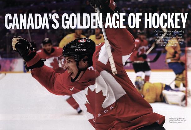 Article Preview: CANADA'S GOLDEN AGE OF HOCKEY, March 2014 | Maclean's