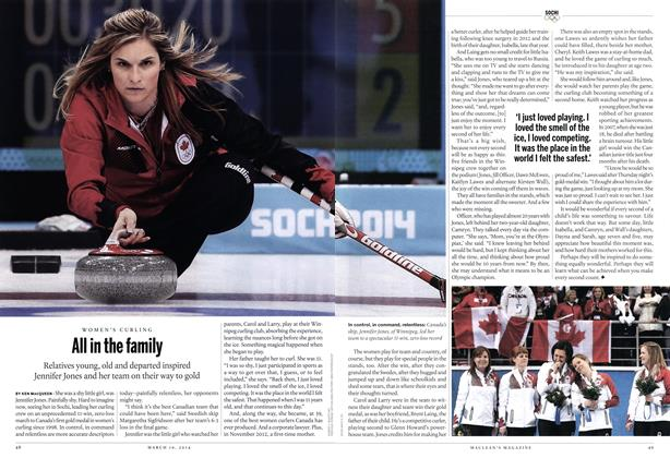 Article Preview: All in the family, March 2014 | Maclean's