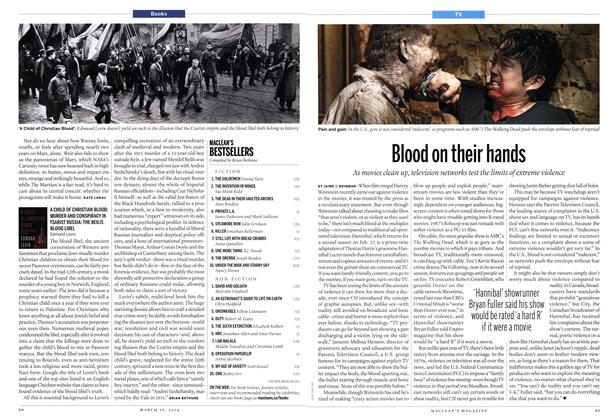 Article Preview: Blood on their hands, March 2014 | Maclean's