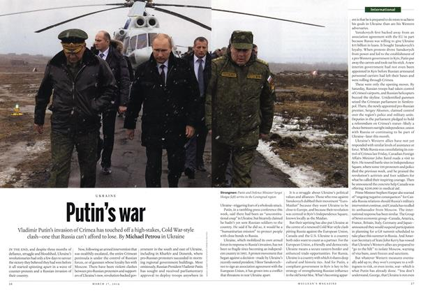 Article Preview: Putin's war, March 2014 | Maclean's