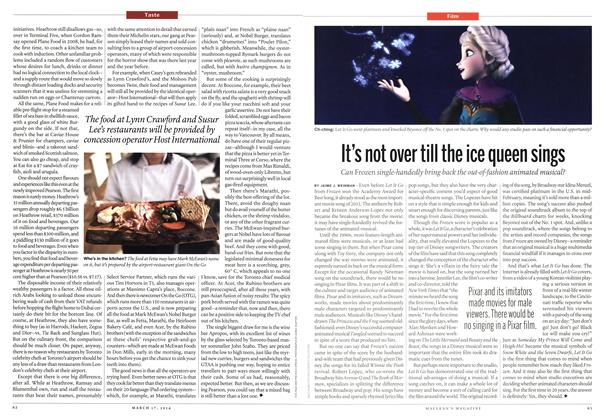 Article Preview: It's not over till the ice queen sings, March 2014 | Maclean's