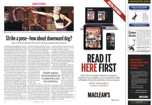 Article Preview: MARKET PLACE, March 2014   Maclean's