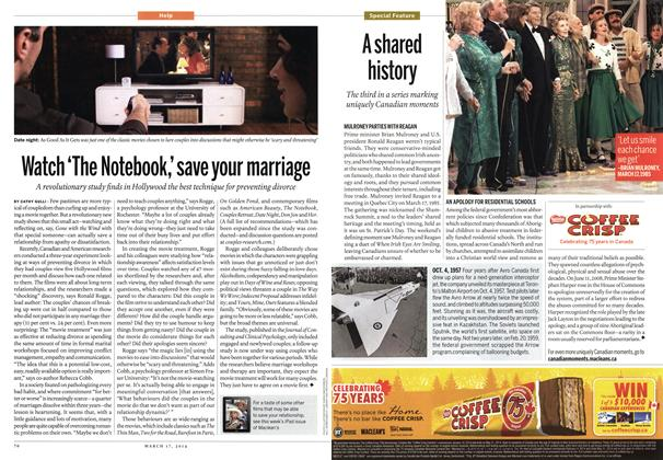 Article Preview: Watch 'The Notebook,' save your marriage, March 2014 | Maclean's