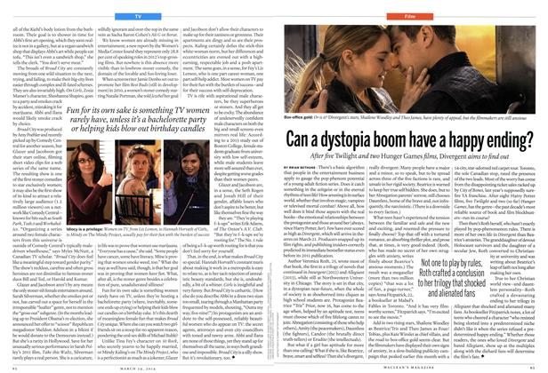 Article Preview: Can a dystopia boom have a happy ending?, March 2014 | Maclean's
