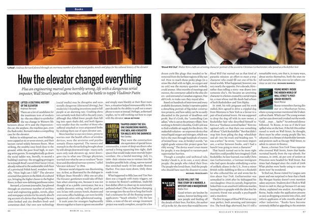 Article Preview: How the elevator changed everything, March 2014   Maclean's