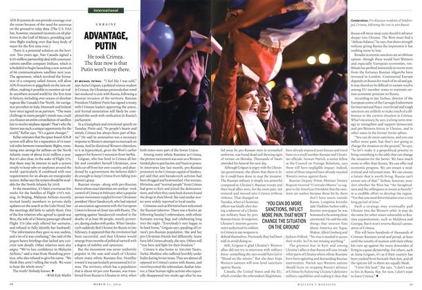 Article Preview: ADVANTAGE, PUTIN, March 2014 | Maclean's