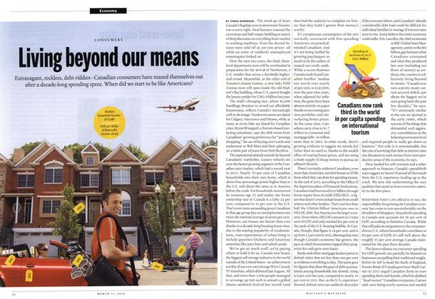 Article Preview: Living beyond our means, March 2014 | Maclean's