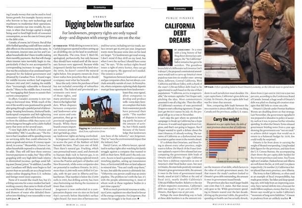 Article Preview: CALIFORNIA DEBT DREAMS, March 2014 | Maclean's