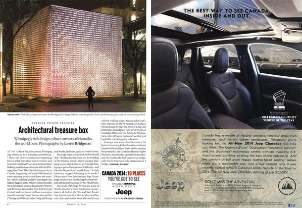 Article Preview: Architectural treasure box, March 2014   Maclean's