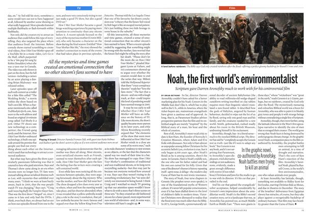 Article Preview: Noah, the first world's environmentalist, March 2014 | Maclean's