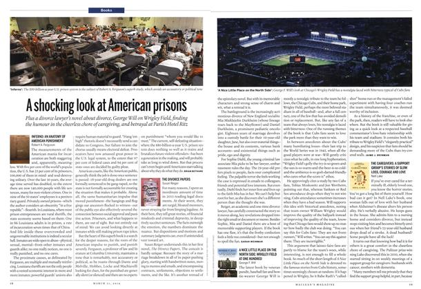 Article Preview: A NICE LITTLE PLACE ON THE NORTH SIDE: WRIGLEY FIELD AT ONE HUNDRED George F. Will, March 2014 | Maclean's