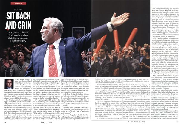 Article Preview: SIT BACK AND GRIN, April 2014 | Maclean's