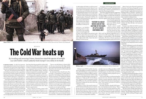 Article Preview: The Cold War heats up, April 2014 | Maclean's