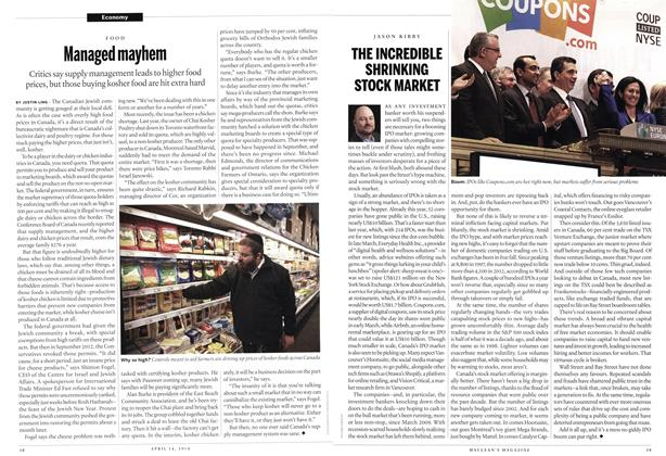 Article Preview: Managed mayhem, April 2014 | Maclean's