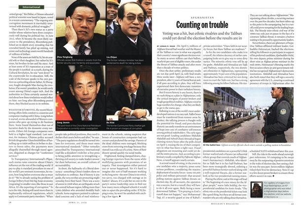 Article Preview: Counting on trouble, April 2014 | Maclean's