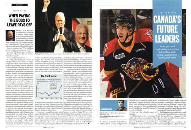 Article Preview: CANADA'S FUTURE LEADERS, April 2014 | Maclean's