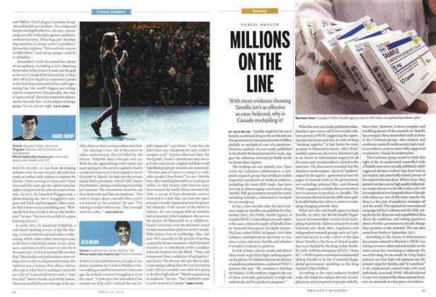 Article Preview: MILLIONS ON THE LINE, April 2014 | Maclean's