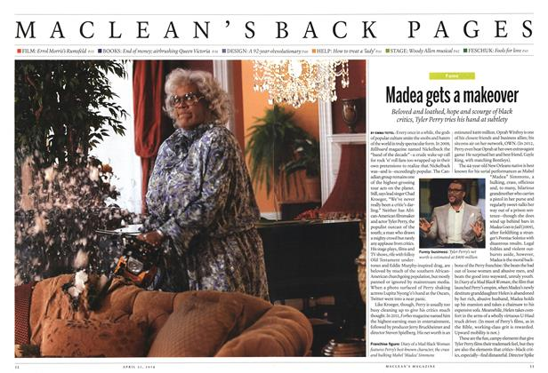 Article Preview: Madea gets a makeover, April 2014 | Maclean's