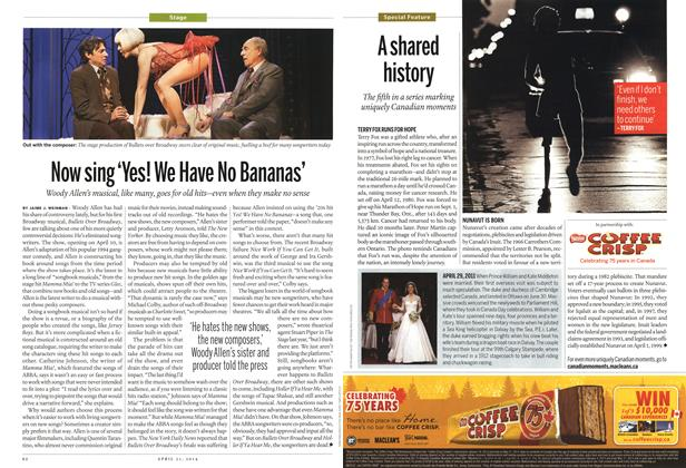 Article Preview: Now sing 'Yes! We Have No Bananas', April 2014   Maclean's
