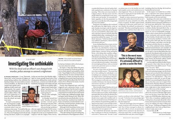 Article Preview: Investigating the unthinkable, April 2014 | Maclean's