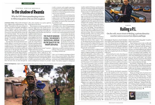 Article Preview: In the shadow of Rwanda, April 2014 | Maclean's