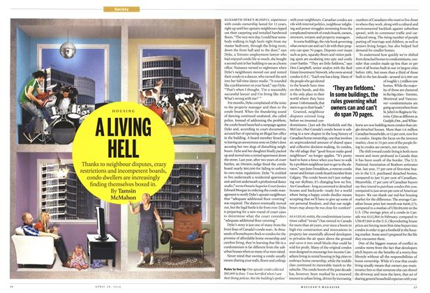 Article Preview: A LIVING HELL, April 2014 | Maclean's