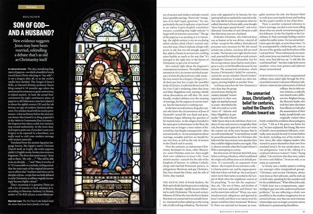 Article Preview: SON OF GOD— AND A HUSBAND?, April 2014 | Maclean's