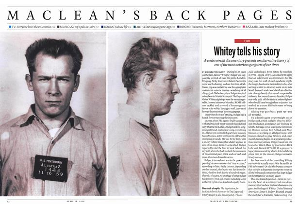 Article Preview: Whitey tells his story, April 2014 | Maclean's