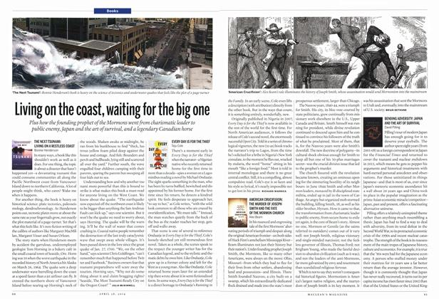 Article Preview: Living on the coast, waiting tor the big one, April 2014 | Maclean's