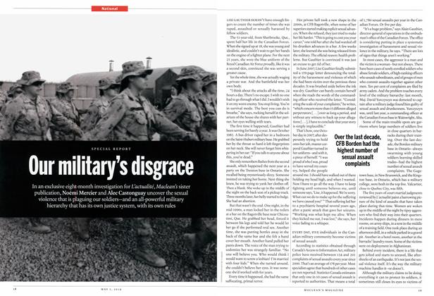 Article Preview: Our military's disgrace, May 2014 | Maclean's