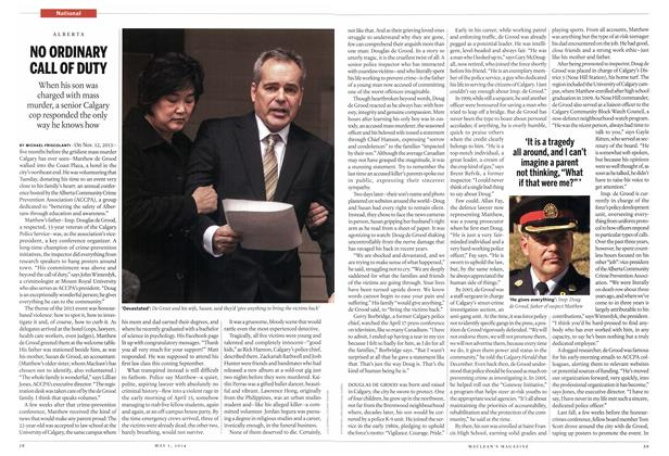 Article Preview: NO ORDINARY CALL OF DUTY, May 2014 | Maclean's