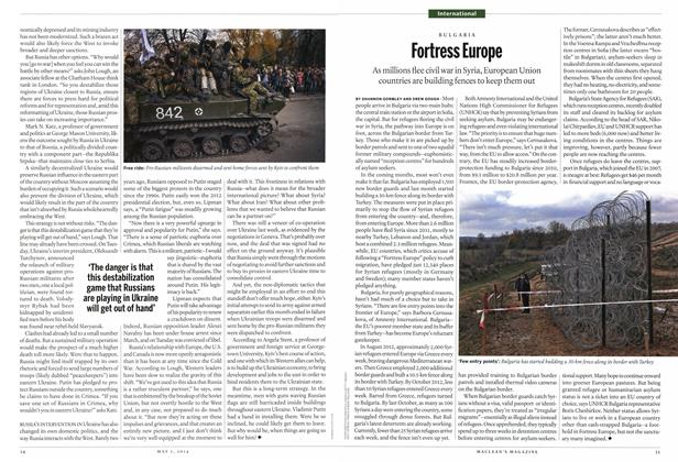 Article Preview: Fortress Europe, May 2014 | Maclean's