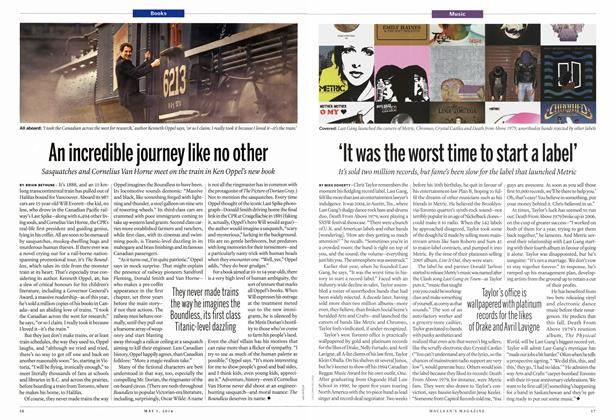 Article Preview: 'It was the worst time to start a label', May 2014 | Maclean's